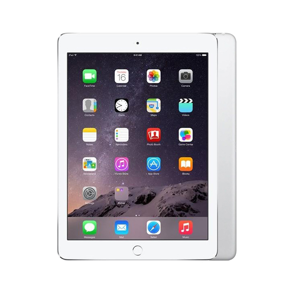 Apple iPad Air 2 Wi-Fi + Cellular [64GB] [Silver] [Excellent] [12M]