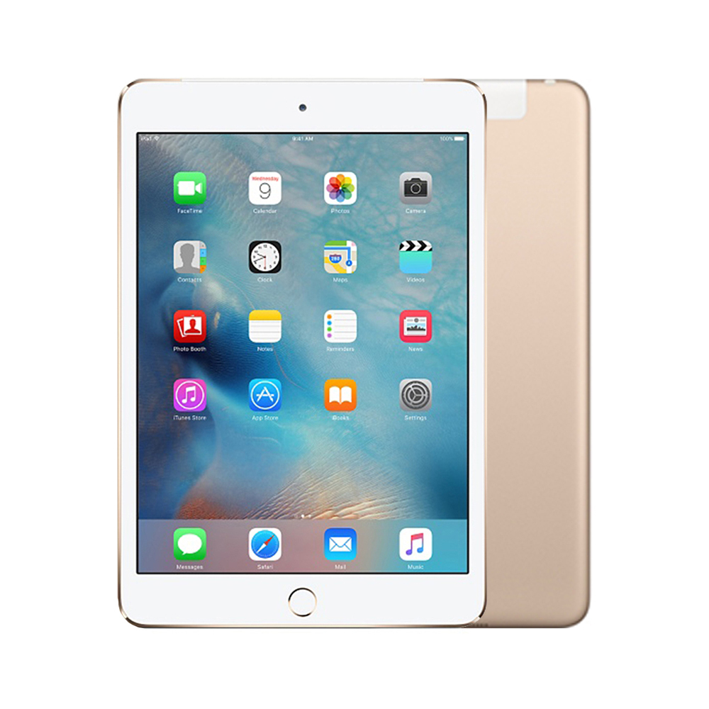 Apple iPad mini 3 Wi-Fi + Cellular [16GB] [Gold] [Good] [6M]