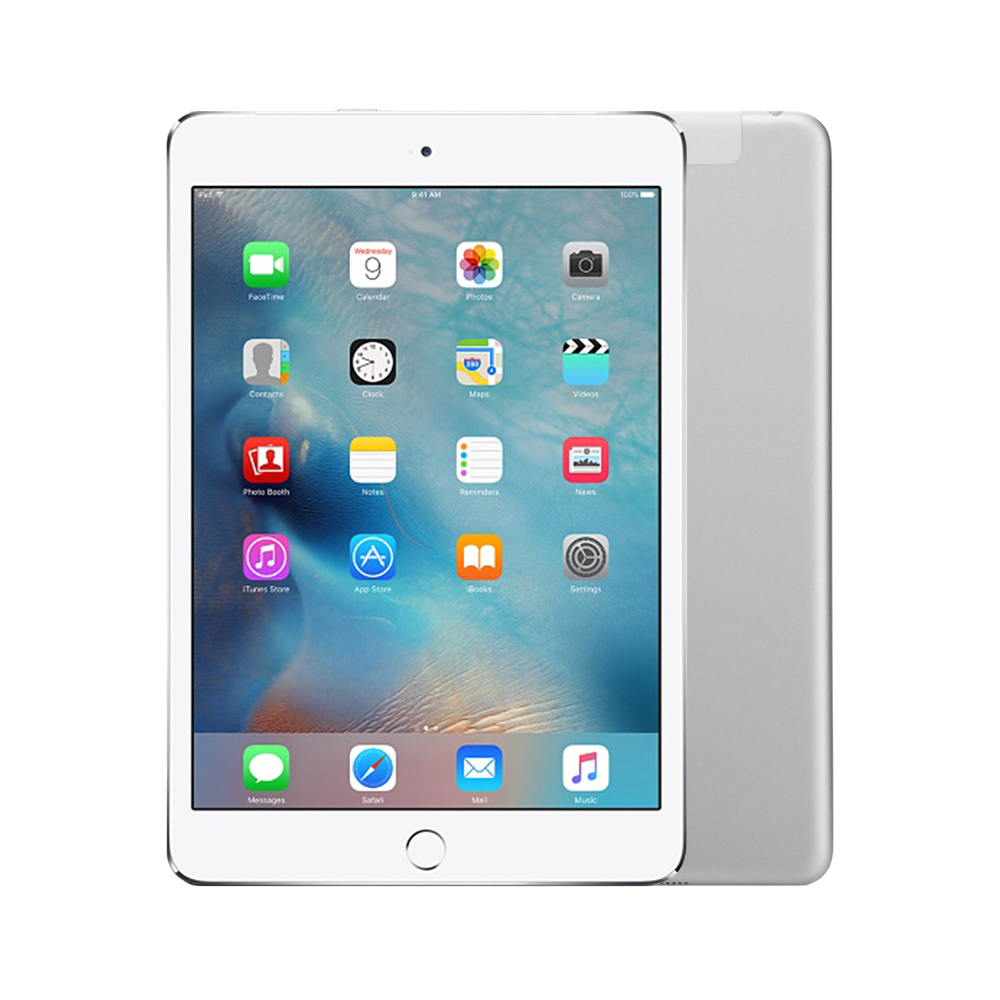 Apple iPad mini 3 Wi-Fi + Cellular [64GB] [Silver] [Good]