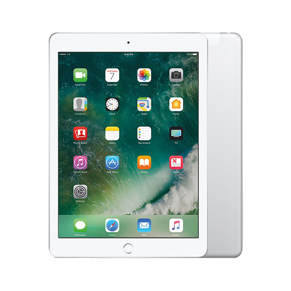 Apple iPad 5 Wi-Fi + Cellular [32GB] [Silver] [Good] [12M]