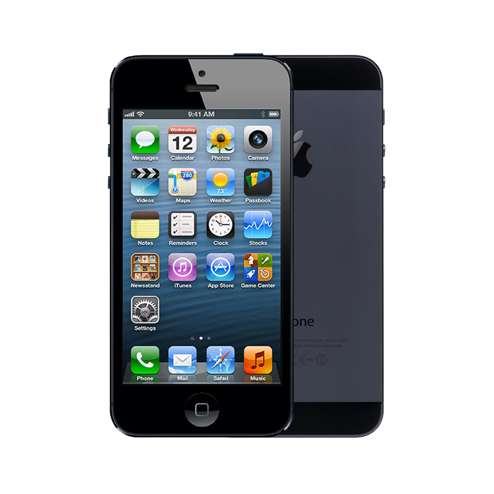 Apple iPhone 5 [64GB] [Black and Slate] [Imperfect]