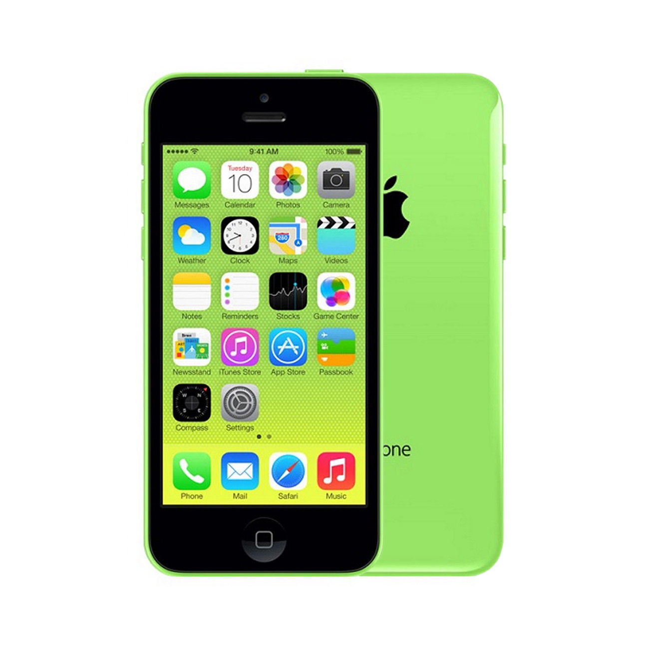 Apple iPhone 5c [16GB] [Green] [Imperfect]