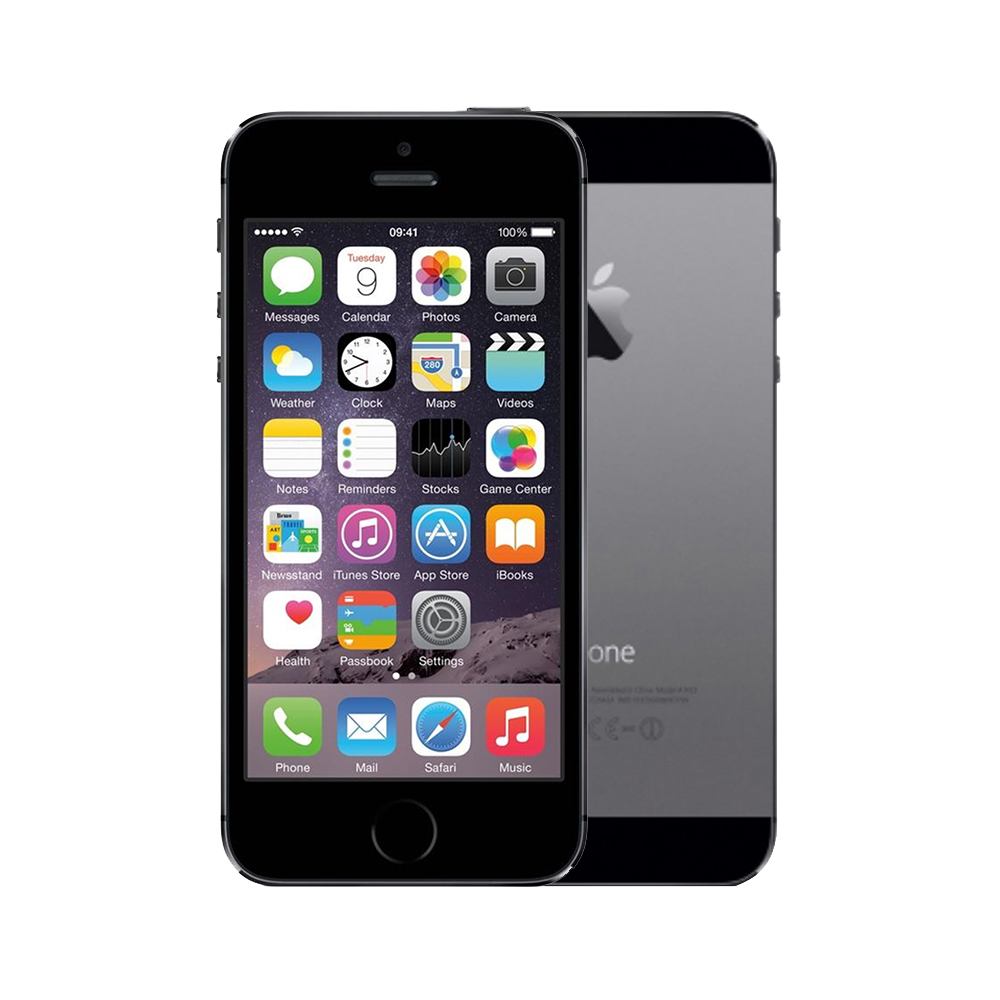 Apple iPhone 5s [16GB] [Space Grey] [Good] [6M]