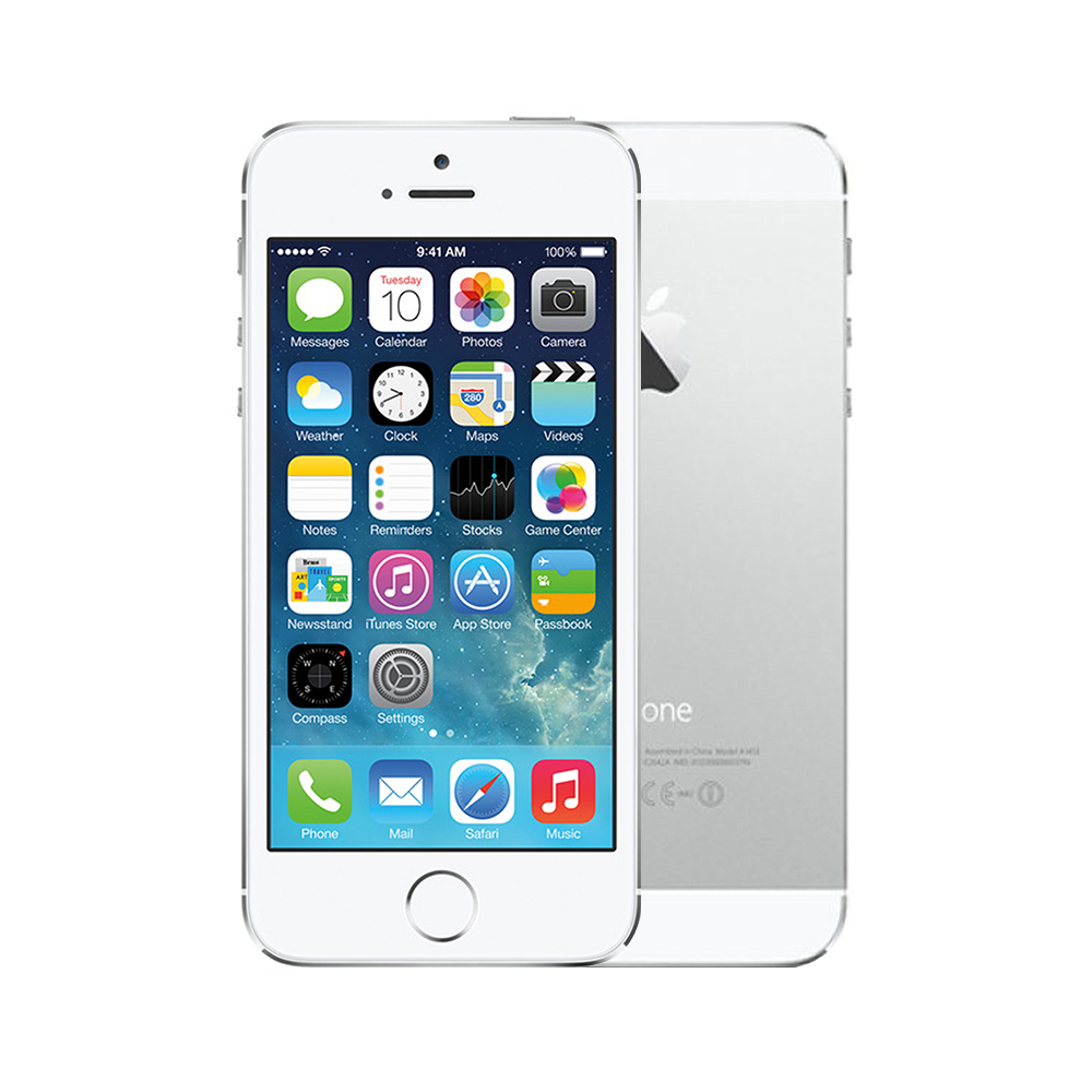 Apple iPhone 5s [64GB] [Silver] [Good] [6M]