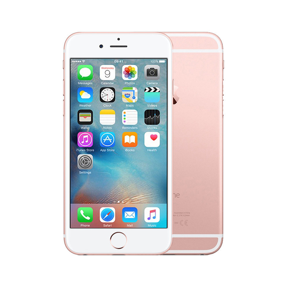 Apple iPhone 6s [128GB] [Rose Gold] [Excellent] [6M]