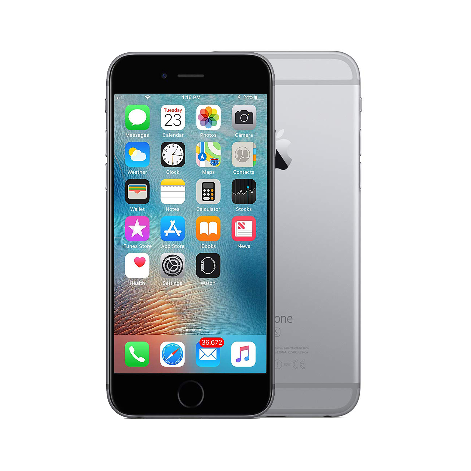 Apple iPhone 6s [16GB] [Space Grey] [Brand New]