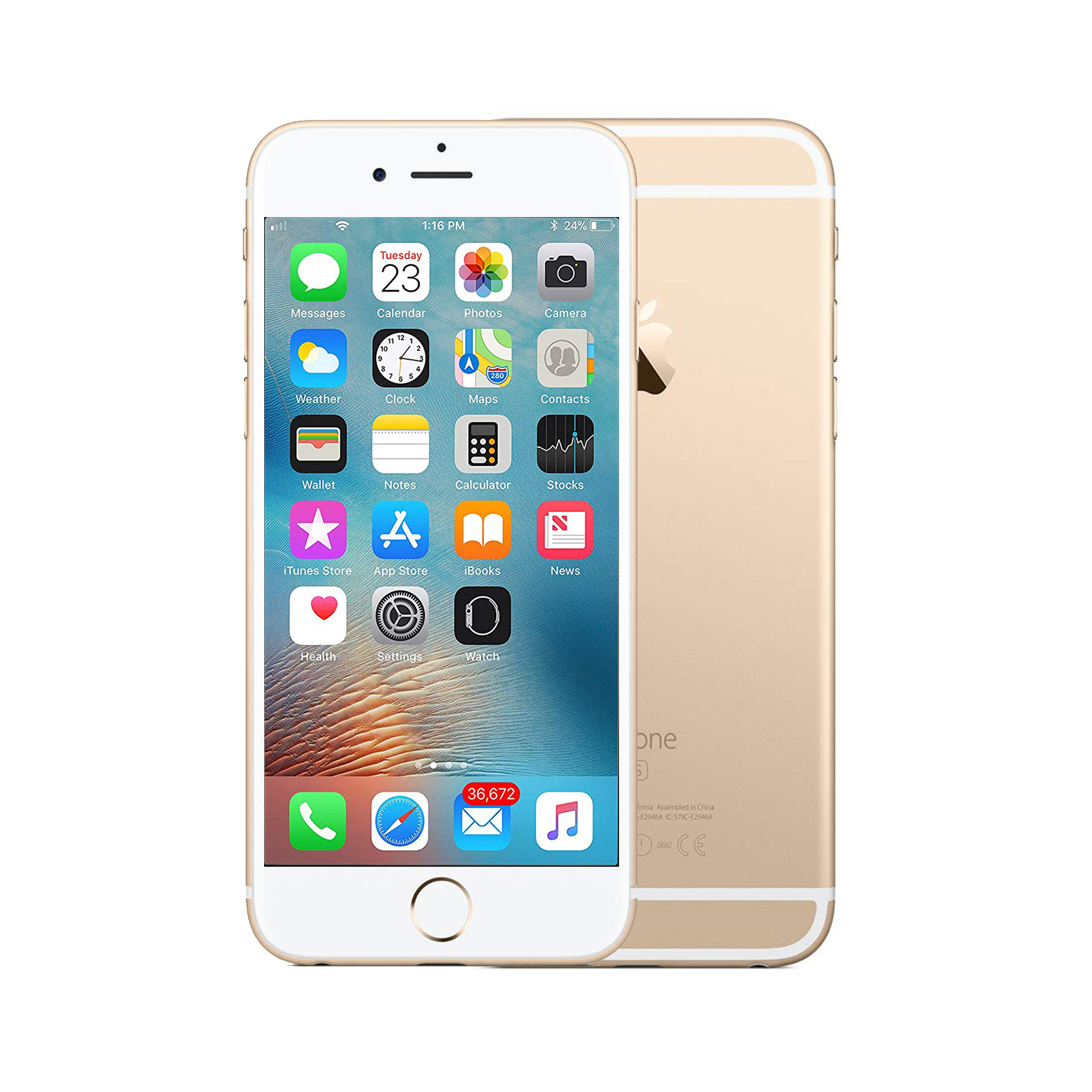 Apple iPhone 6s [64GB] [Gold] [As New] [6M]