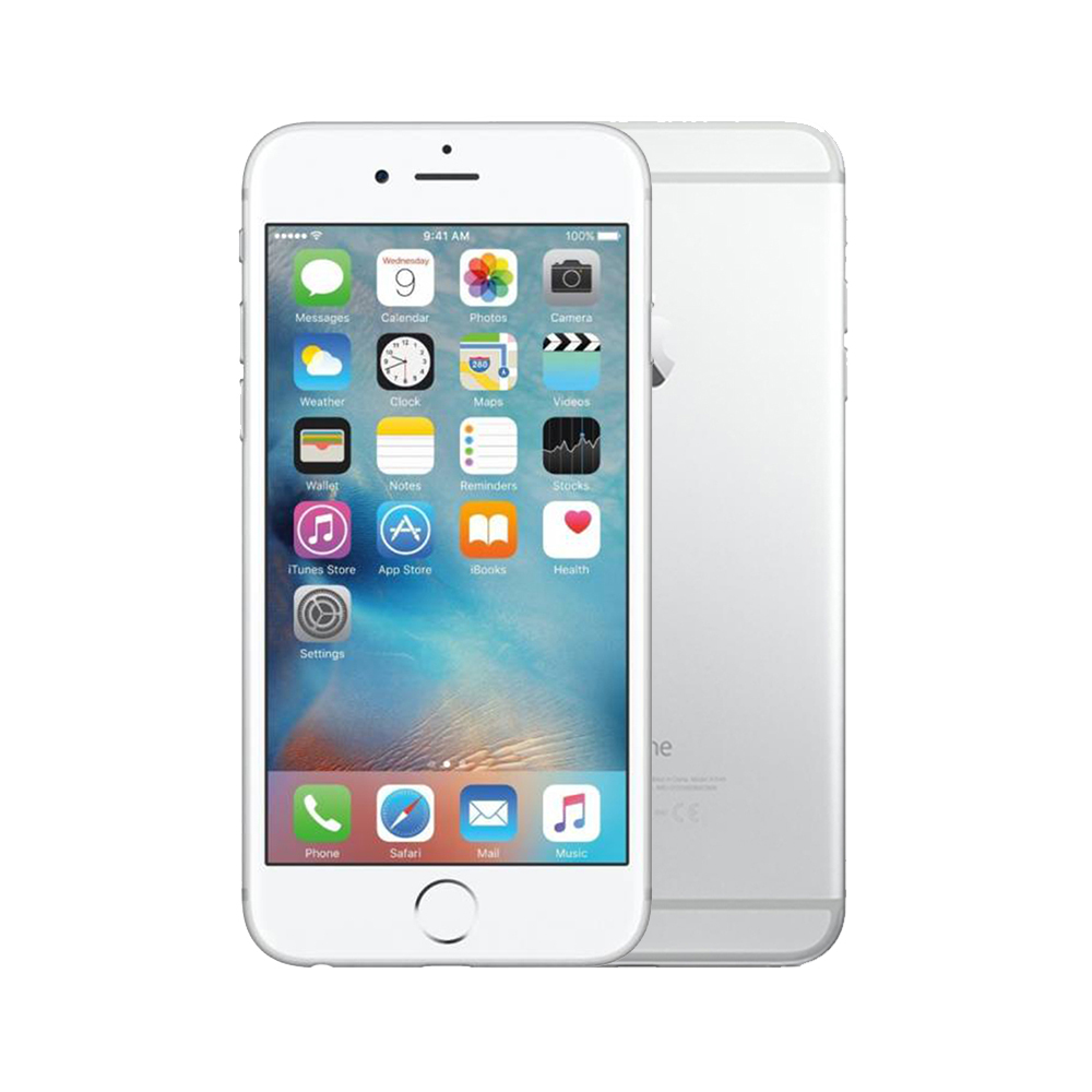 Apple iPhone 6s [64GB] [Silver] [Excellent] [6M]