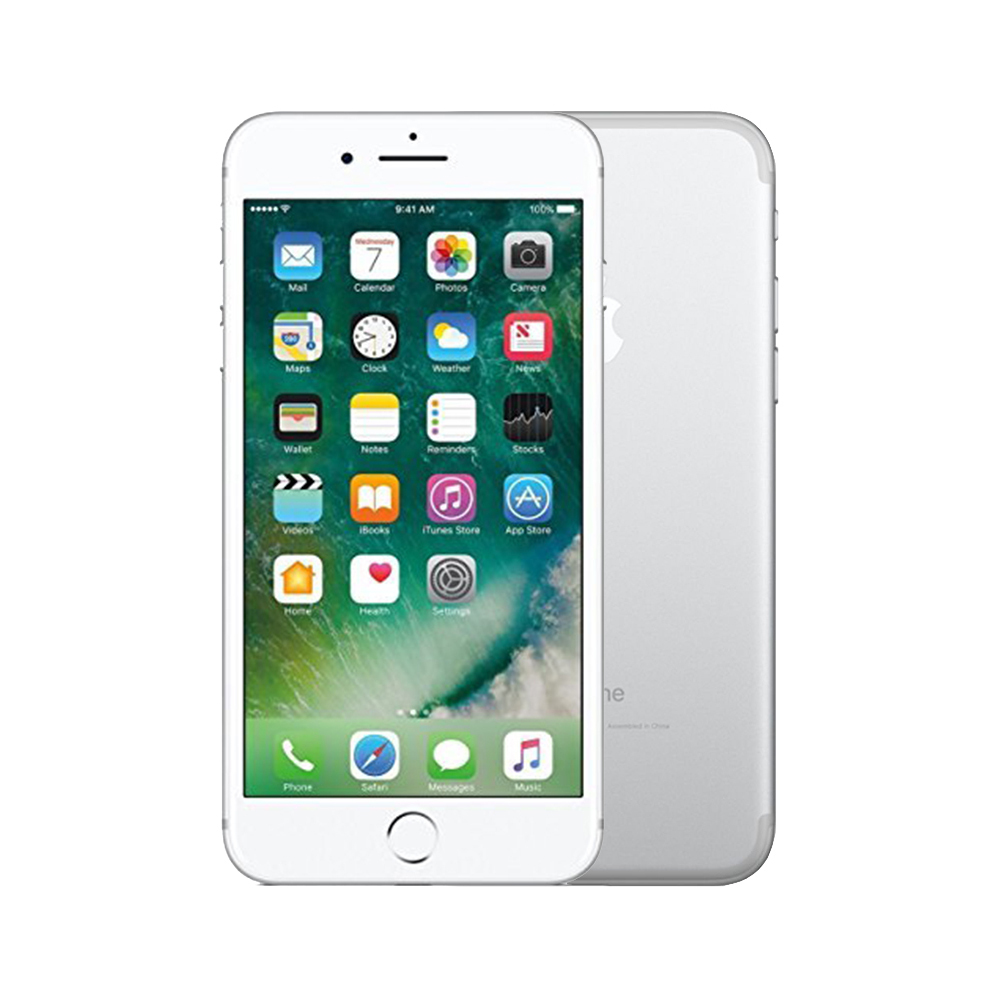 Apple iPhone 7 [128GB] [Silver] [Fair] [12M]