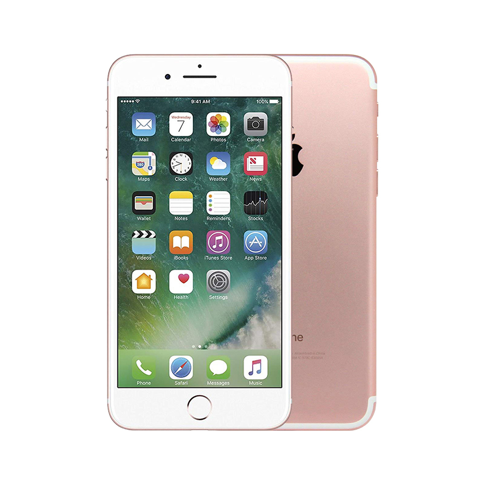 Apple iPhone 7 [32GB] [Rose Gold] [Fair] [12M]