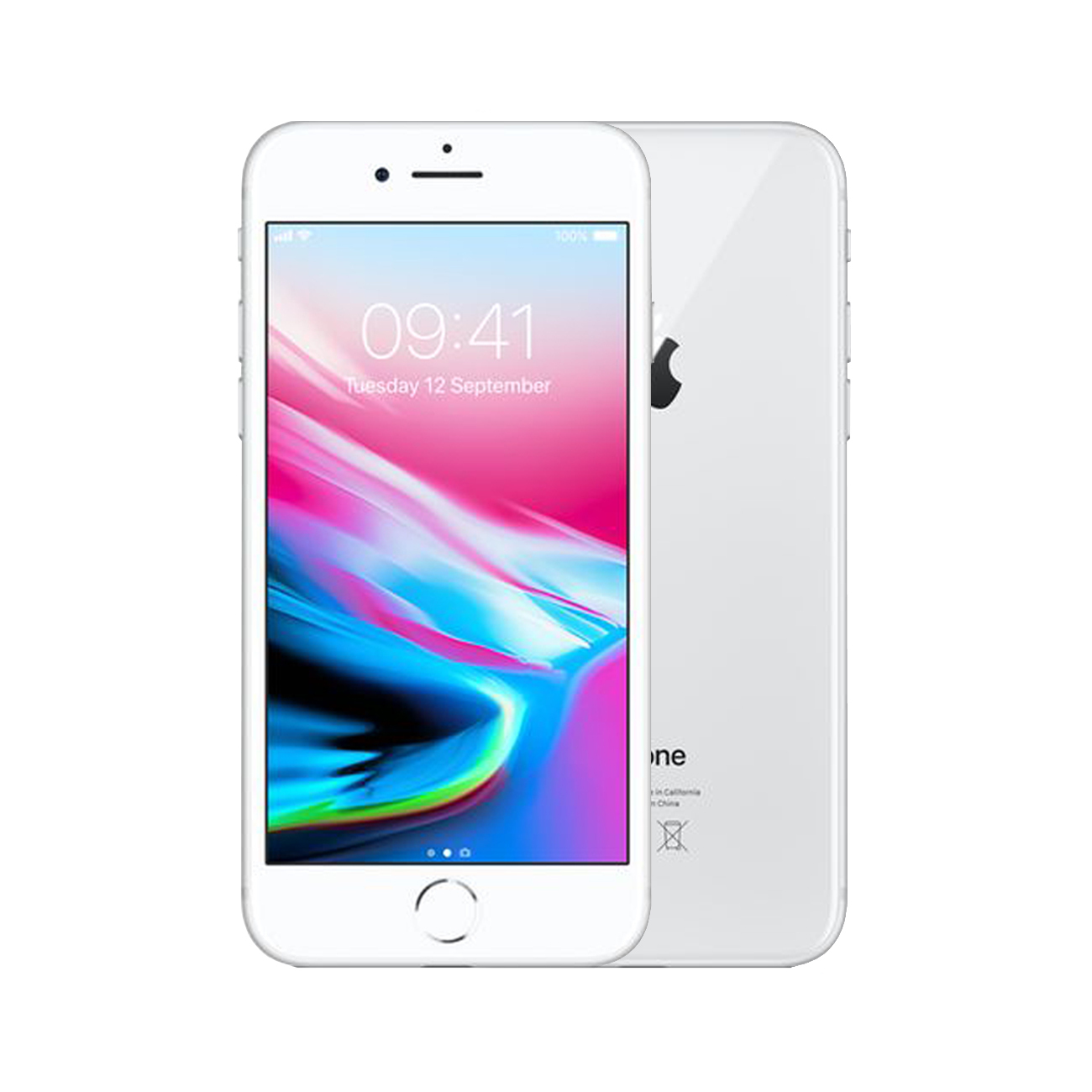 Apple iPhone 8 [64GB] [Silver] [Excellent] [12M]