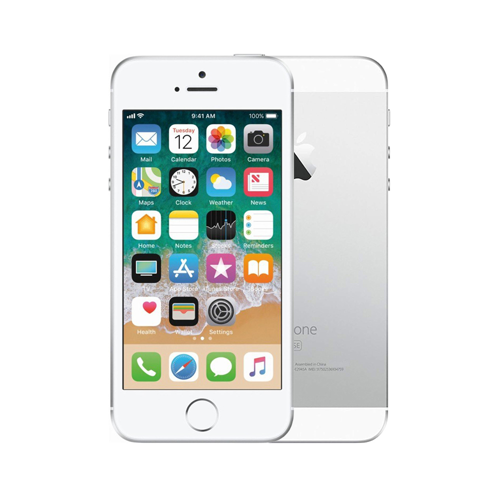 Apple iPhone SE [32GB] [Silver] [Fair] [6M]