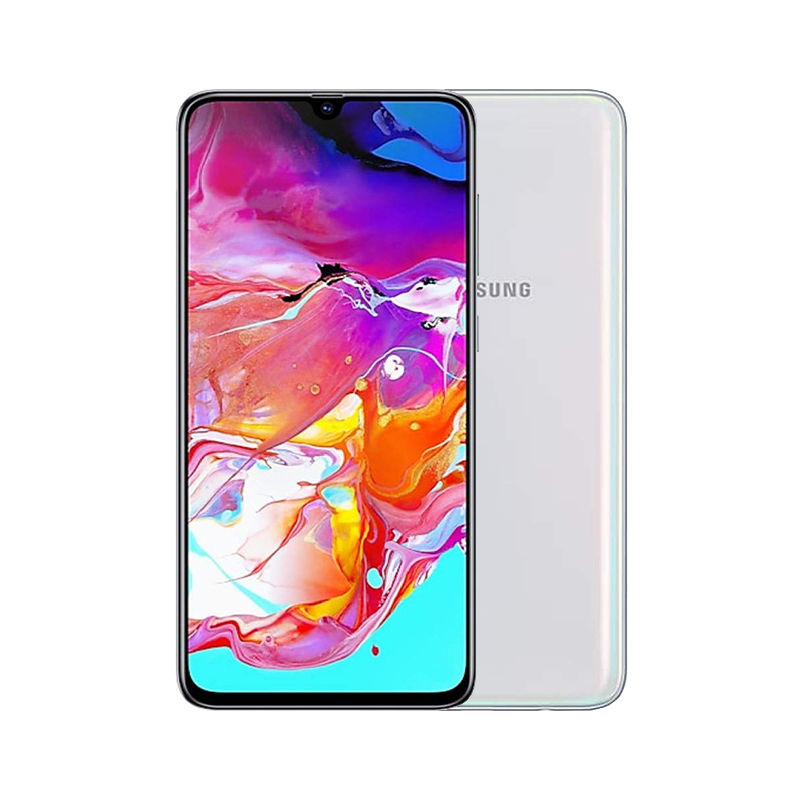 Samsung Galaxy A70 [128GB] [White] [Fair] [12M]