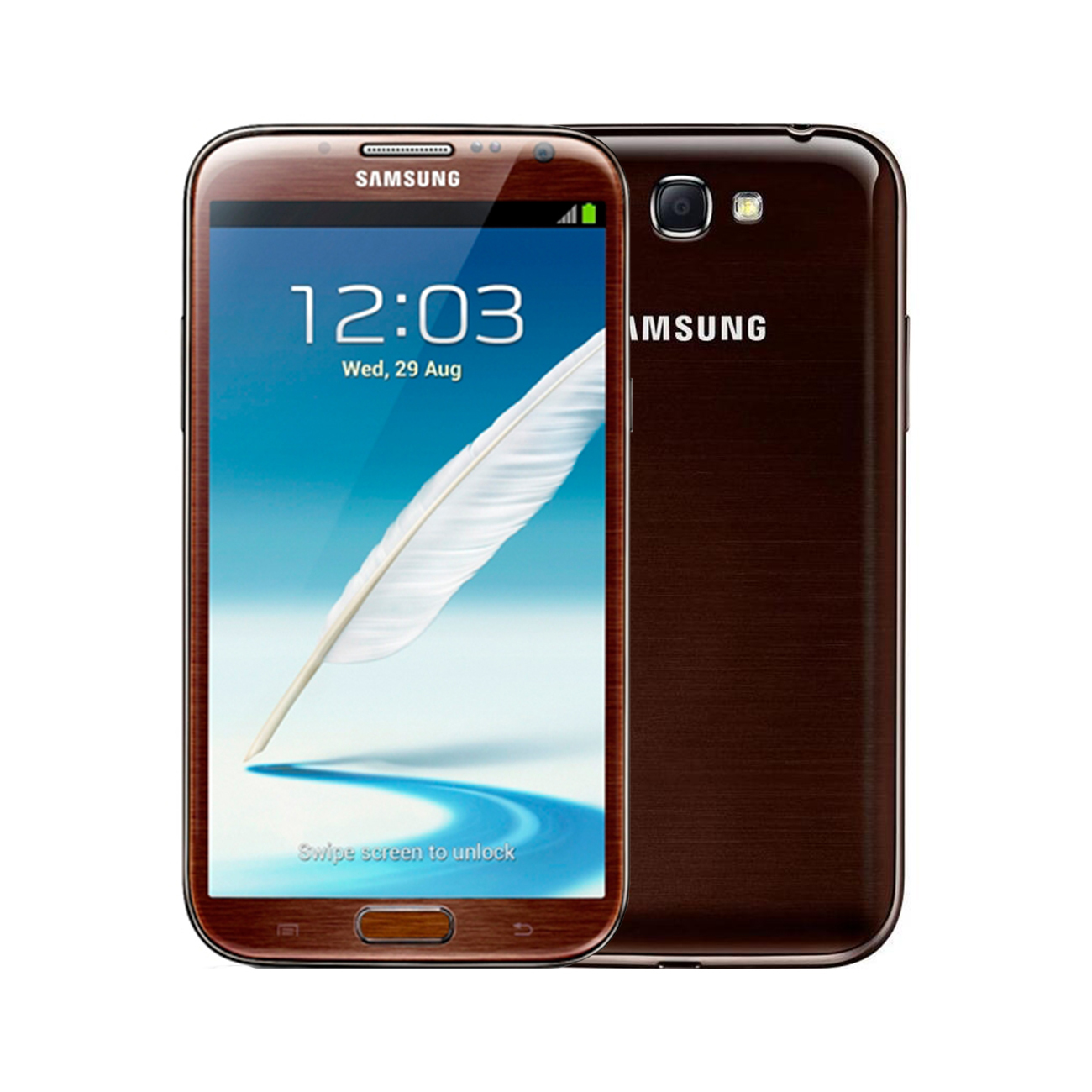 Samsung Galaxy Note 2 [16GB] [Amber Brown] [Imperfect]