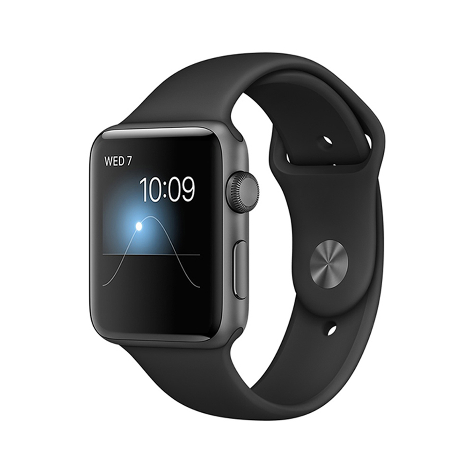 Apple Watch Series 2 [GPS] [Aluminium] [38mm] [Grey] [Excellent] [12M]