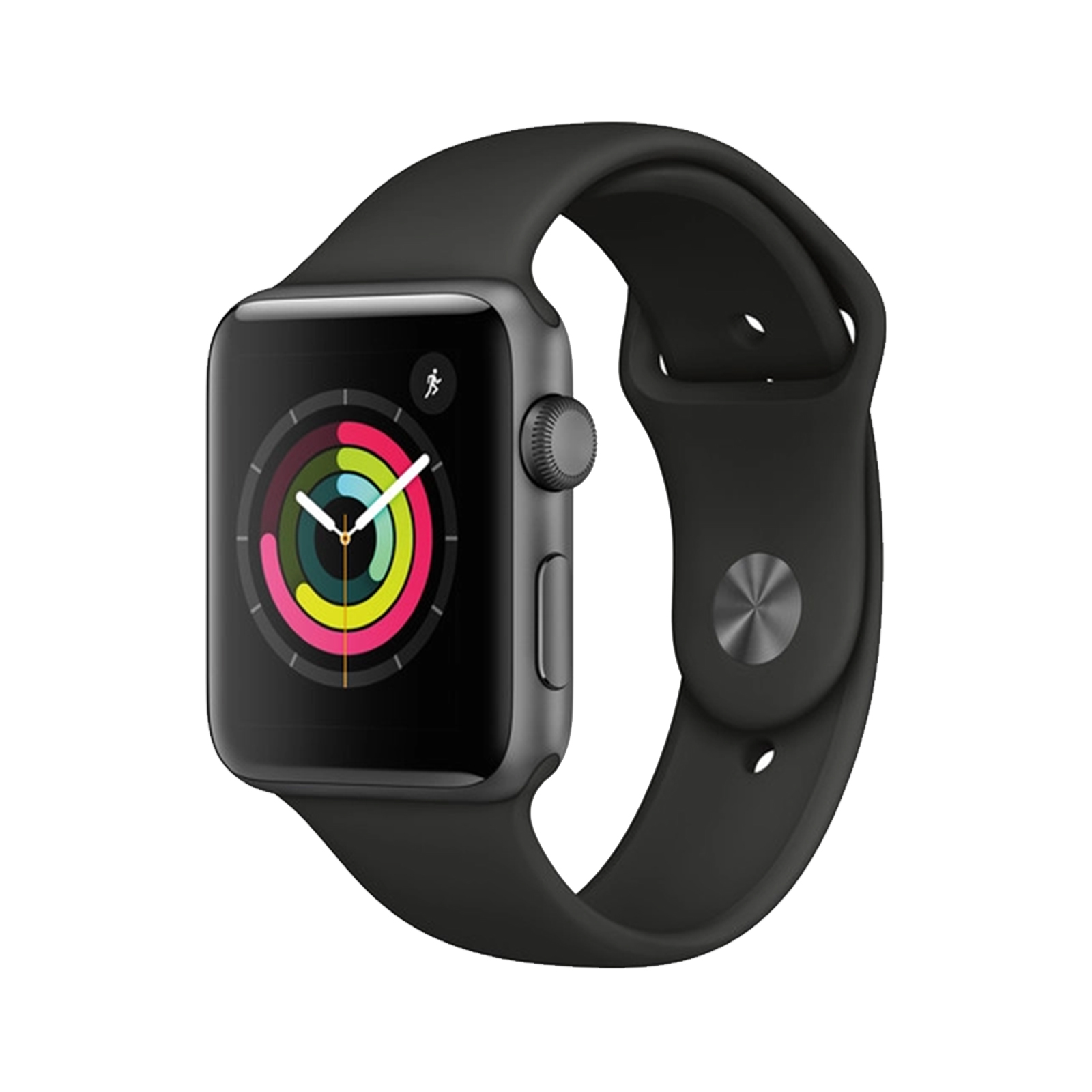 Apple Watch Series 3 [GPS] [Stainless Steel] [42mm] [Grey] [As New] [12M]
