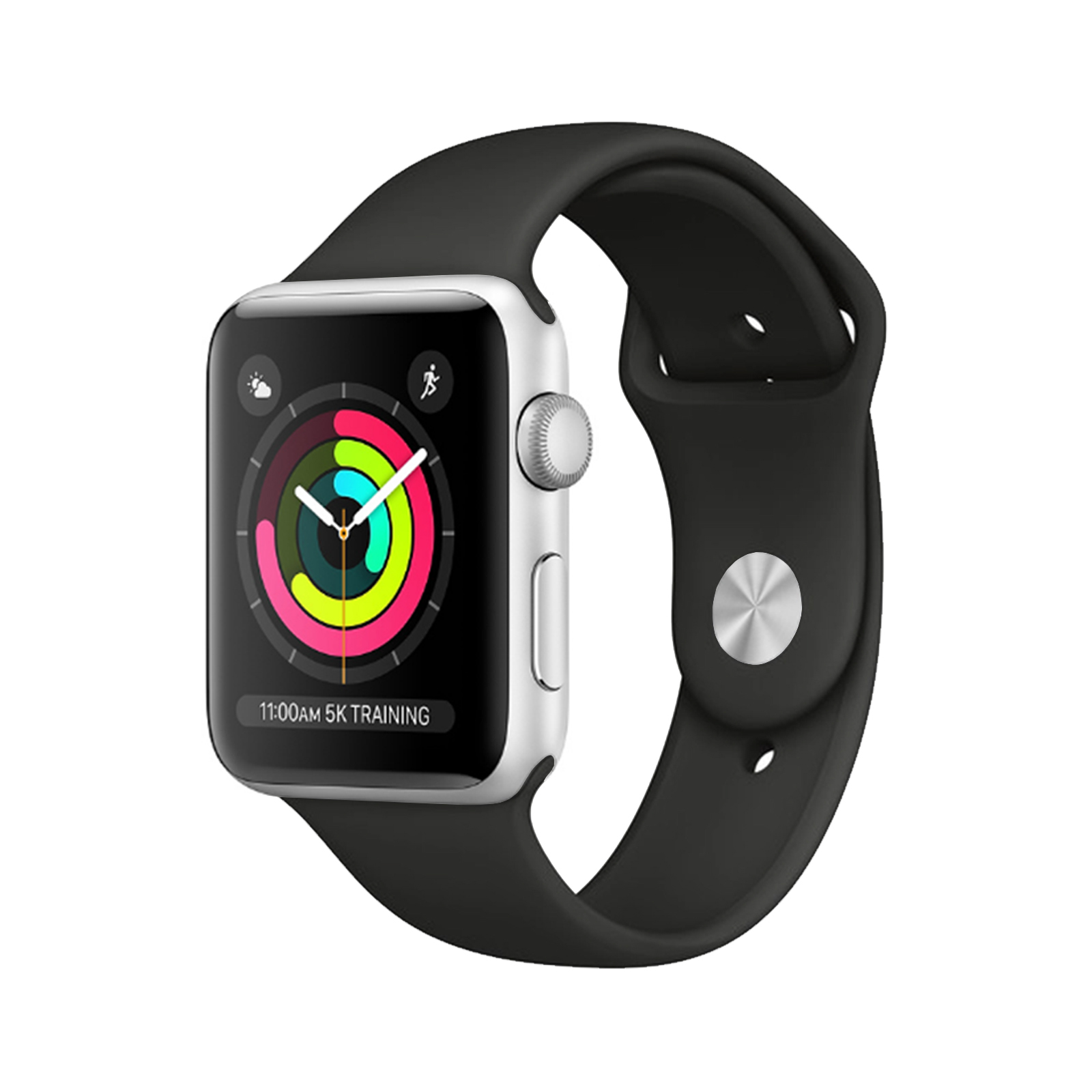 Apple Watch Series 3 [GPS] [Stainless Steel] [42mm] [Silver] [Good [12M]