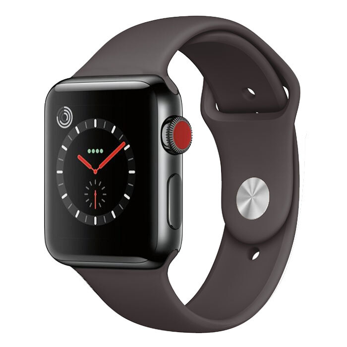 Apple Watch Series 3 [Nike] [LTE] [Stainless Steel] [42mm] [Grey] [Brand New] [24M]