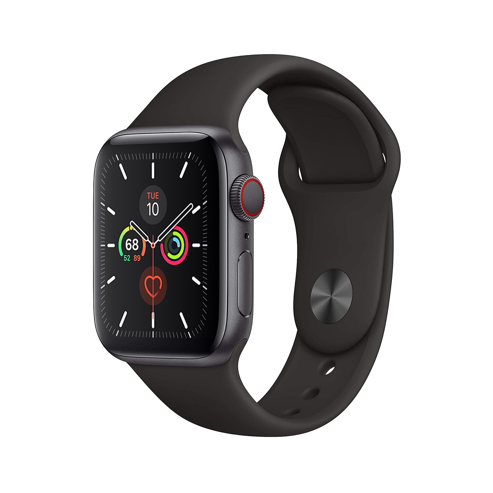Apple Watch Series 5 [GPS + Cellular] [44mm] [Black] [Excellent] [12M]